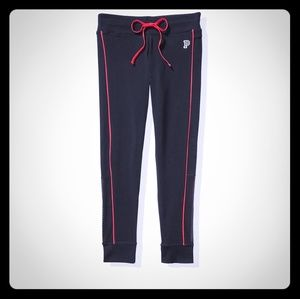 Victoria's Secret Pink Black Cotton Campus Legging